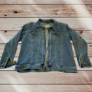 Vintage L.L. Bean Jean Jacket Size XXL